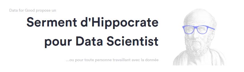 Un serment pour les Data Scientists